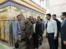 حضور دانشجویان در آستان مقدس موسی مبرقع